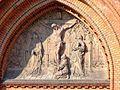 Płaskorzeźba nad głównym wejściem Bazyliki Mniejszej w Białymstoku.jpg