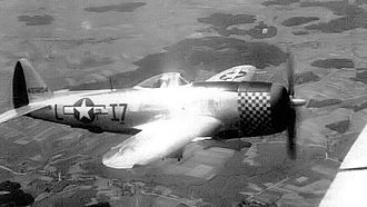 48th Operations Group - Republic P-47D-30-RA Thunderbolt Serial 44-33204 of the 493d Fighter Squadron