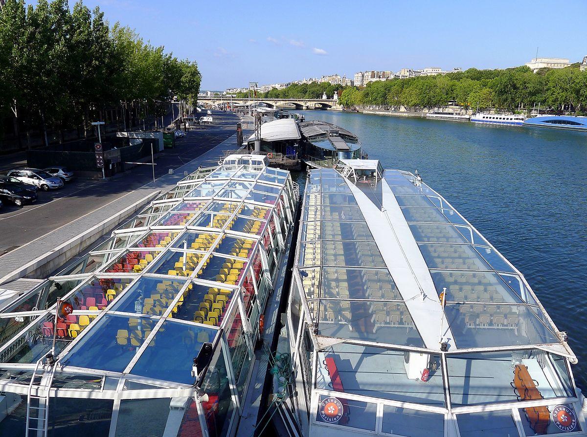 Port de la bourdonnais wikidata - Bateaux parisiens port de la bourdonnais ...