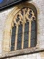 PA00078470 vitrail extérieur de l'église Saint Martin de Mont-Saint Martin Ardennes.jpg