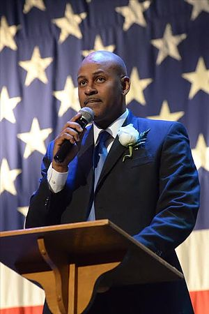 Percy Bland - Speaking at the Meridian Temple Theater (July 1, 2013)