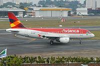 PR-AVB - A319 - Avianca Brazil