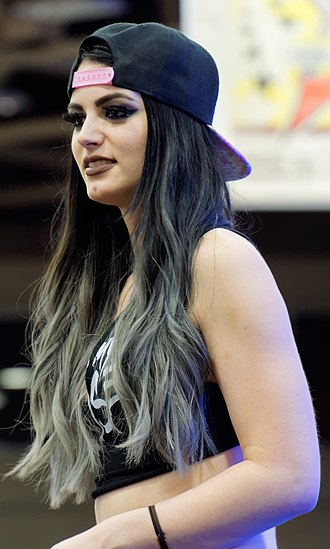 Paige (wrestler) - Paige at WrestleMania Axxess in April 2016