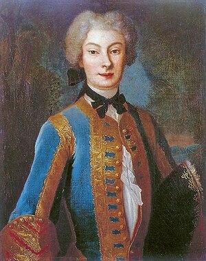 Anna Karolina Orzelska - Anna Orzelska in riding habit by Louis de Silvestre, 1730.