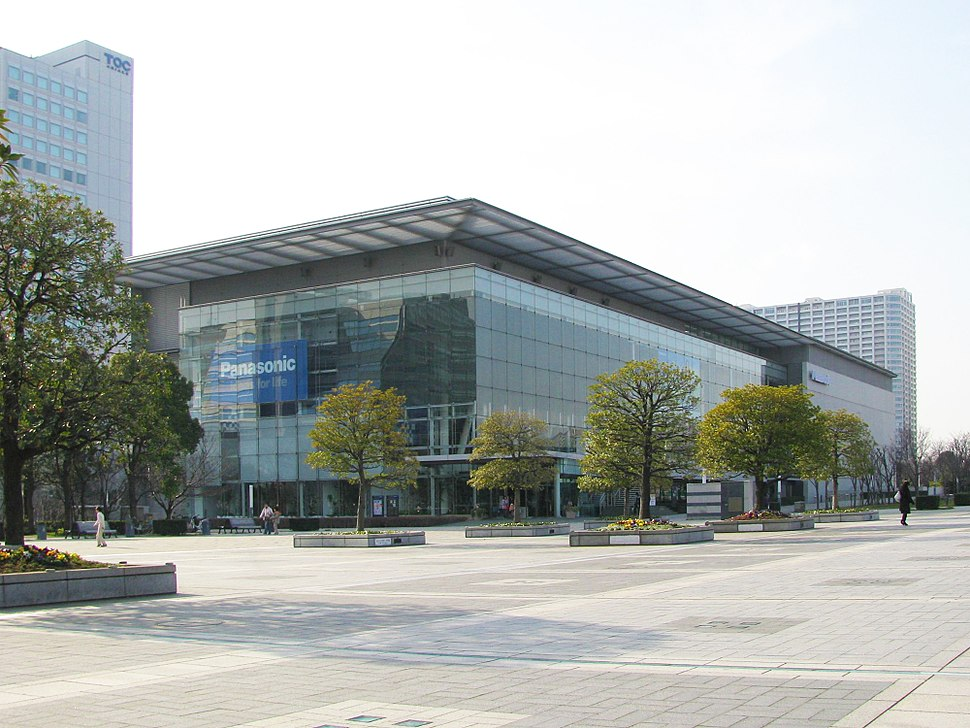 The Panasonic Center in Tokyo, Japan