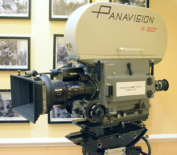 Panavision movie camera