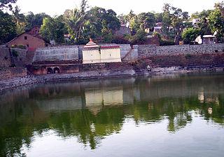 Panhala city in Maharashtra, India