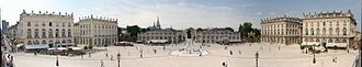 Place Stanislas - Panorama of the Place Stanislas after a renovation in 2004–2005