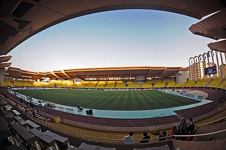 Stade Louis II, home of AS Monaco FC