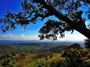 "Djurdjura National Park - Image: Parc National Djurdjura, Bouira, Algerie "" une vue sur l'horizon, wilaya de bouira"""