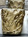 Paris (75), abbaye Saint-Germain-des-Prés, chapiteau envoyé au musée de Cluny 06.jpg