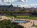 Paris 20130809 - Musée d'Orsay and Jardin des Tuileries from Grande roue des Tuileries.jpg