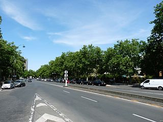Boulevard de lAmiral-Bruix boulevard in Paris, France