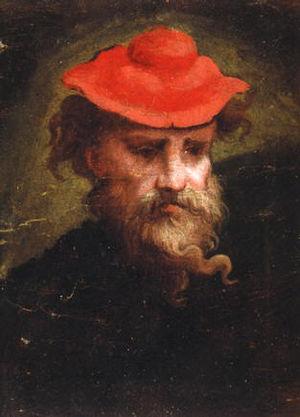Parmigianino - Parmigianino Selfportrait (1540).