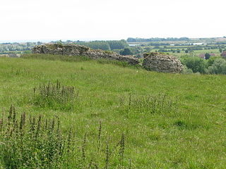 Portus Lemanis Roman fort