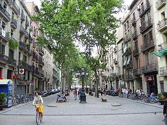 Sant Pere, Santa Caterina i la Ribera - Passeig del Born, in la Ribera
