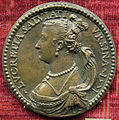 Pastorino, medaglia di lucrezia salviati, moglie di latino orsini, 1571 (no verso).JPG