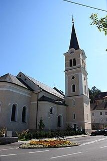 Paternion Place in Carinthia, Austria