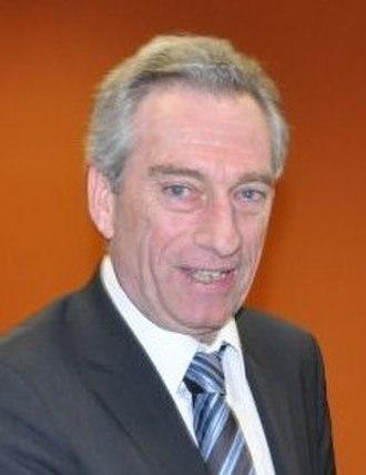 Patrick Labaune - Patrick Labaune, deputy of Drôme, during the March 2010 regional elections régionales.