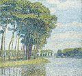 Paul Baum Bäume am Kanal.jpg