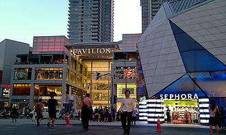 Bukit Bintang - Entrance of Pavilion Kuala Lumpur