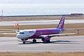 Peach Aviations ,MM103 ,Airbus A320-214 ,JA808P ,Departed to Sapporo ,Kansai Airport (16045922404).jpg