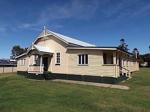 Peak Crossing, Queensland - Peak Crossing Public Hall, 2015