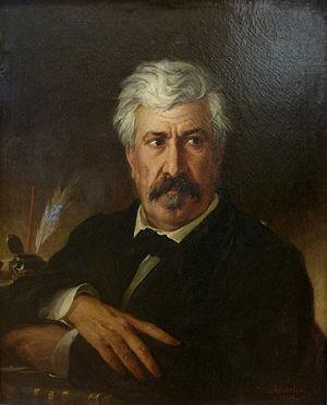 Manuel de Araújo Porto-Alegre, Baron of Santo Ângelo - Porto-Alegre in an 1869 painting  by Pedro Américo