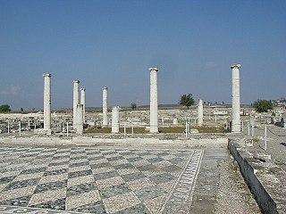 capital of the ancient kingdom of Macedon
