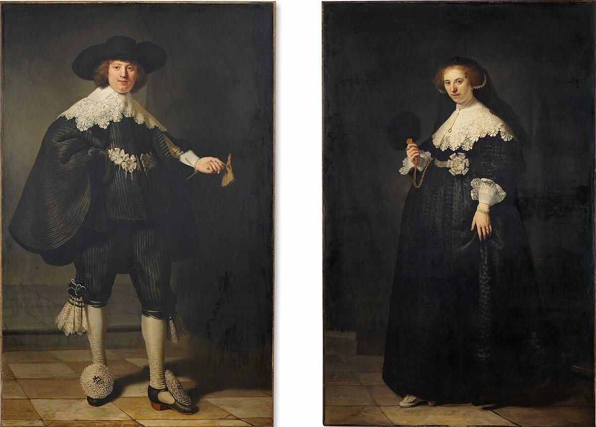File:Pendant portraits of Maerten Soolmans and Oopjen Coppit.jpeg -  Wikipedia