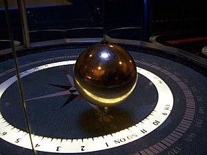 The pendulum clock at the Chicago Museum of Sc...
