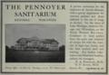 "Pennoyer Sanitarium (""American medical directory"", 1906 advert).png"