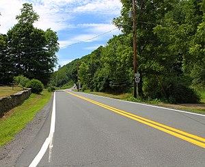Pennsylvania Route 92 - Pennsylvania Route 92 west of Nicholson