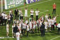 Persepolis F.C. celebrating after 2019–20 Persian Gulf Pro League trophy (24).jpg
