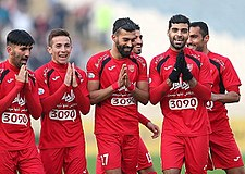 Persepolis F.C. players Goal celebration.jpg