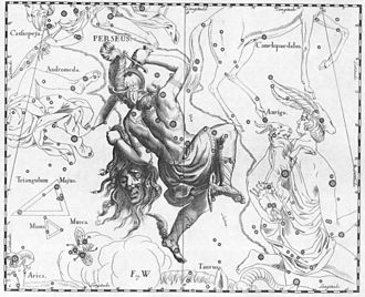 Algol - Image: Perseus Hevelius