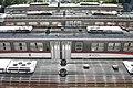 Perugia, 2012 - Sant'Anna railway station, Umbria Mobilità trains.jpg
