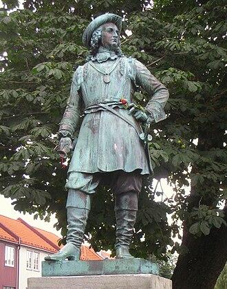 Peter Tordenskjold - Statue of Tordenskjold in Trondheim.