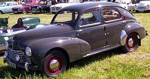 Peugeot 203 - Peugeot 203 4-Door Berline (1948 - 1952 version)