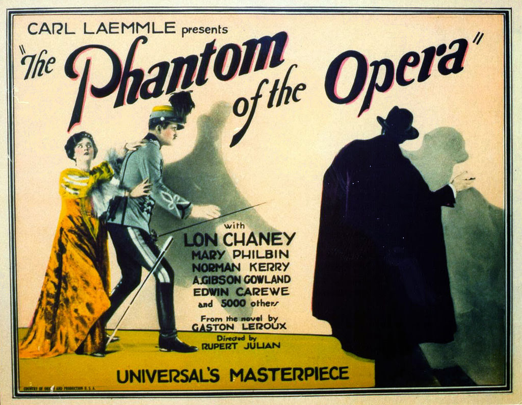 Phantom of the Opera lobby card