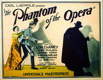 The Phantom of the Opera (1925 film) - Lobby card