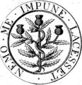 Pharmacopoeia Collegii Regii Medicorum Edinburgensis. Fleuron N011220-1.png