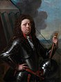 Philip van Dijk - Portrait of an Officer in Armour in Front of His Tent NTIV QUEG 1514019.jpg
