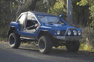 """Bush Ranger (car) - Photograph of the Australian made """"Bush Ranger"""", February 2006"""
