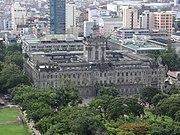 Pic geo photos - ph=mm=manila=sampaloc=españa blvd.=university of santo tomas (ust)=main bldg. - aerial shot from univ. tower -philippines--2015-0622--ls-