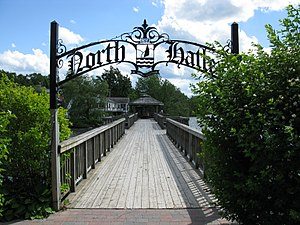 North Hatley, Quebec - A pier on Lake Massawippi.
