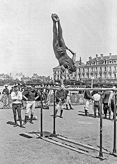 Pierre Payssé French gymnast and teacher