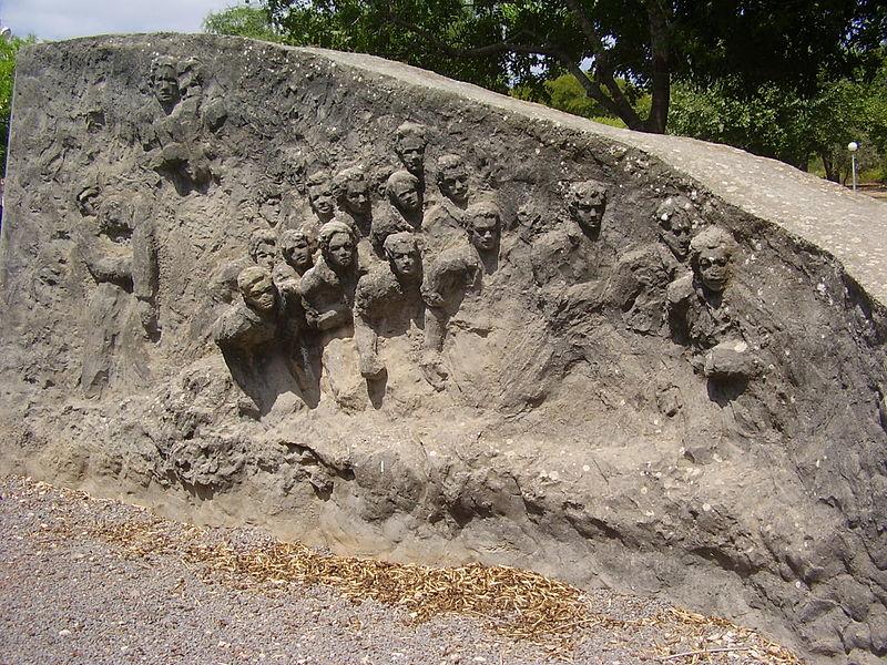 אנדרטה לנופלים בקיבוץ בית קשת