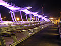 PikiWiki Israel 36693 Beersheba tubes Bridge at night.JPG