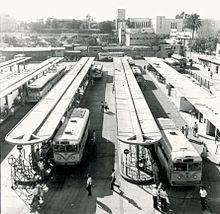 Antiga estació d'autobusos de Tel Aviv.